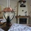Luxury - krb se zásobou dřeva, lampičky