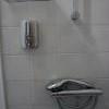 Nostalgie - sprchový kout se zásobou mýdla