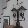 Nostalgie - starožitná lampa