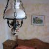 Comfort - starožitný lustr ve tvaru petrolejky